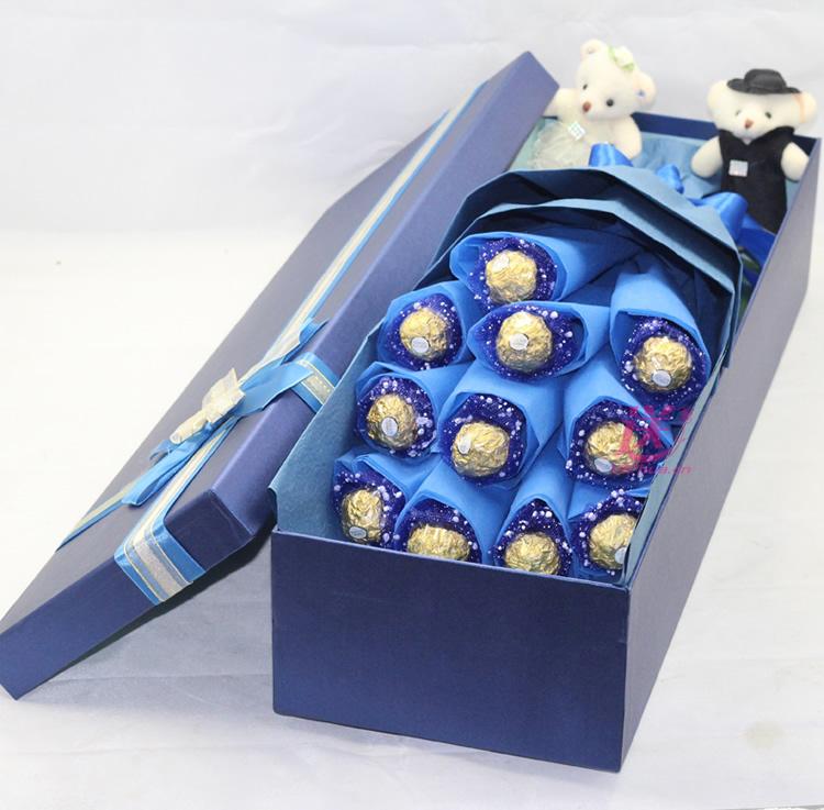 爱到底—快送鲜花网|送费列罗巧克力|情人节送巧克力|网上买巧克力花束|异地送巧克力