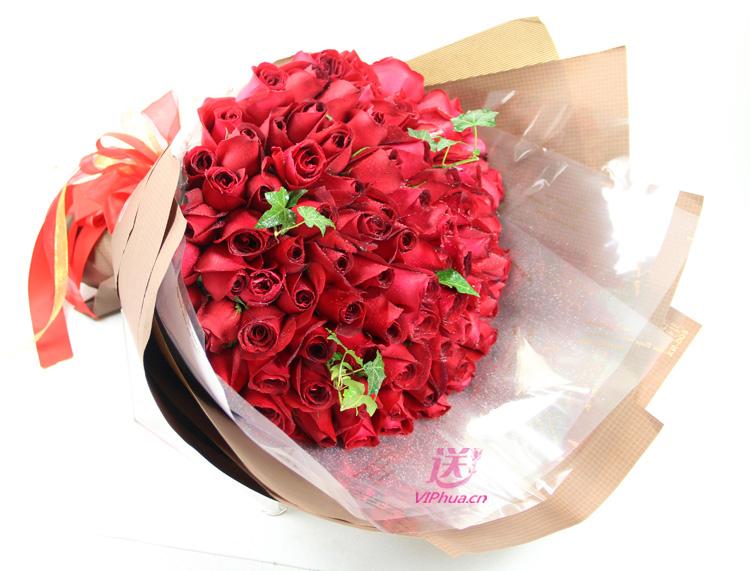 天长地久—快送鲜花网|鲜花速递|异地订花|99朵玫瑰花订购|情人节网上订鲜花|520七夕鲜花订购