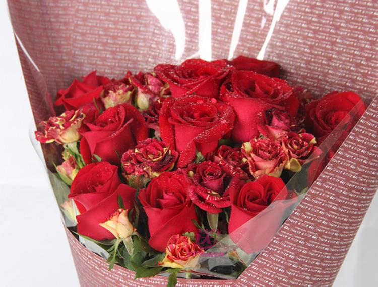 蔷薇之恋—快送鲜花网 情人节鲜花 邮政鲜花 北京邮政鲜花 上海网上送花 同城送花服务