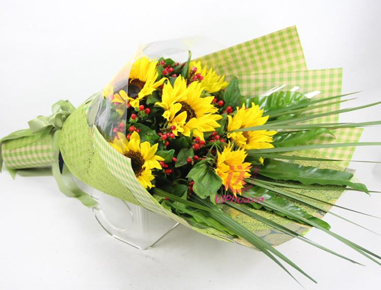 笑颜——快送鲜花网 父亲节鲜花 送给长辈礼物 石家庄同城送花 生日鲜花预定 网上订购鲜花
