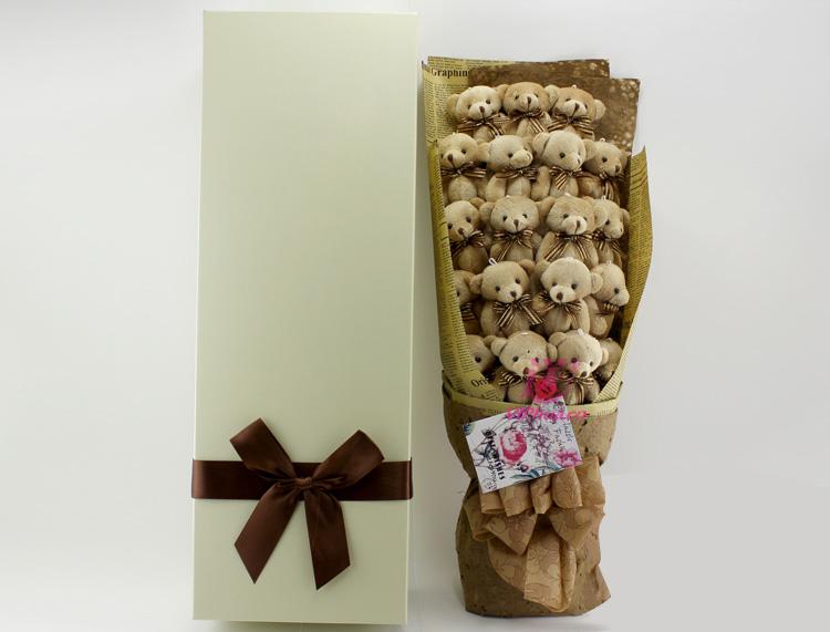 心灵深处—快送鲜花网 异地送礼物 卡通花束 公仔外偶 毛绒玩具 网上买礼物 圣诞节礼物
