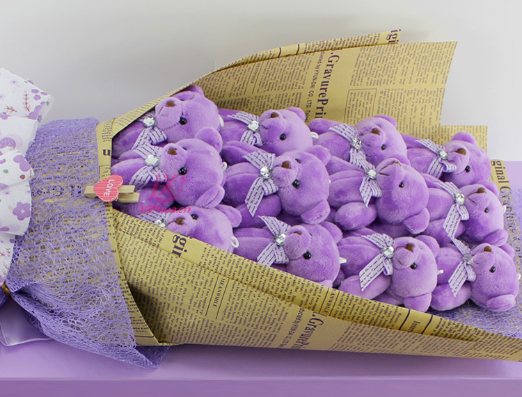 天真的温存—快送鲜花网|异地送礼物|卡通花束|公仔外偶|毛绒玩具|网上买礼物|圣诞节礼物