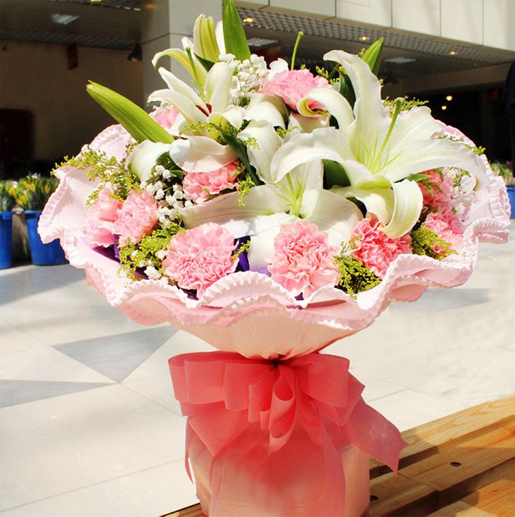 心中的最美—快送鲜花网|西安蛋糕店|蛋糕快递|蛋糕网|祝寿蛋糕|送长辈生日礼物|送蛋糕