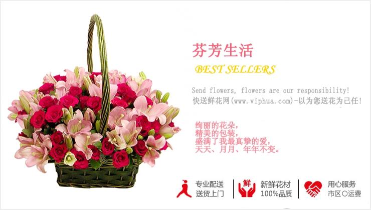 芬芳生活—快送鲜花网|购买花篮|鲜花花篮|送花篮|订购花篮|异地送花|情人节花篮