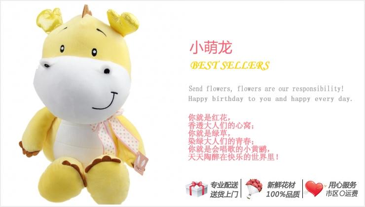 小萌龙—快送鲜花网|个性礼品推荐|礼物网|生日送什么礼物好|创意礼品网站