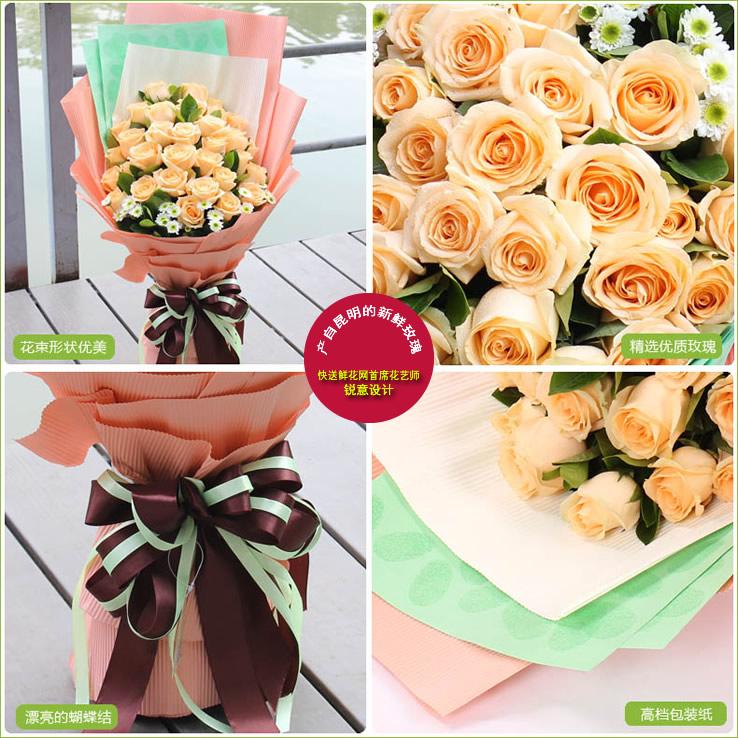 最爱是你—快送鲜花网|网上买花|异地如何订购鲜花